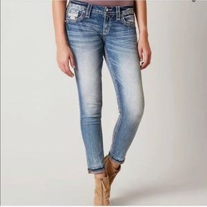 Rock Revival Abree Easy Ankle Skinny Jeans 26